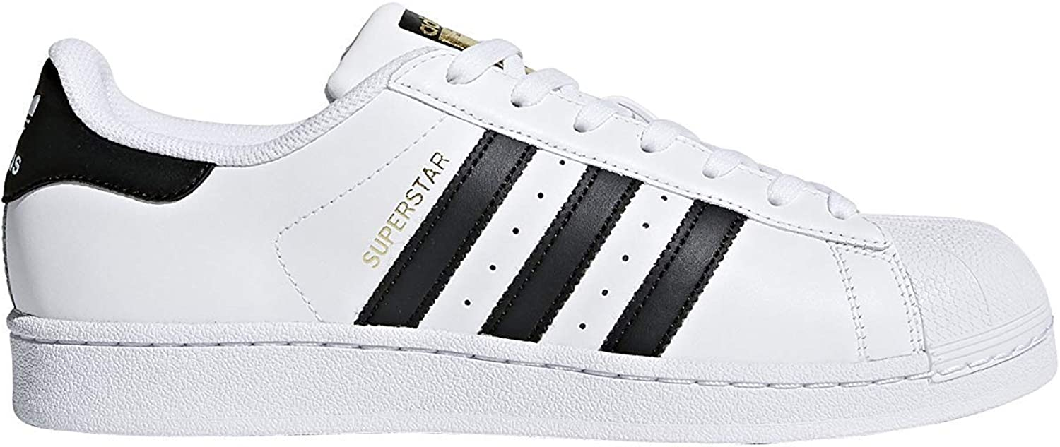 Adidas Superstar 2 Tone Stripes Mens Trainers White bluee Red - 7 UK