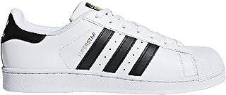 adidas Men's Superstar, White/Navy