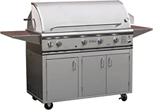 Profire Professional Deluxe Series 48-inch Freestanding Natural Gas Grill With Searmagic Grids