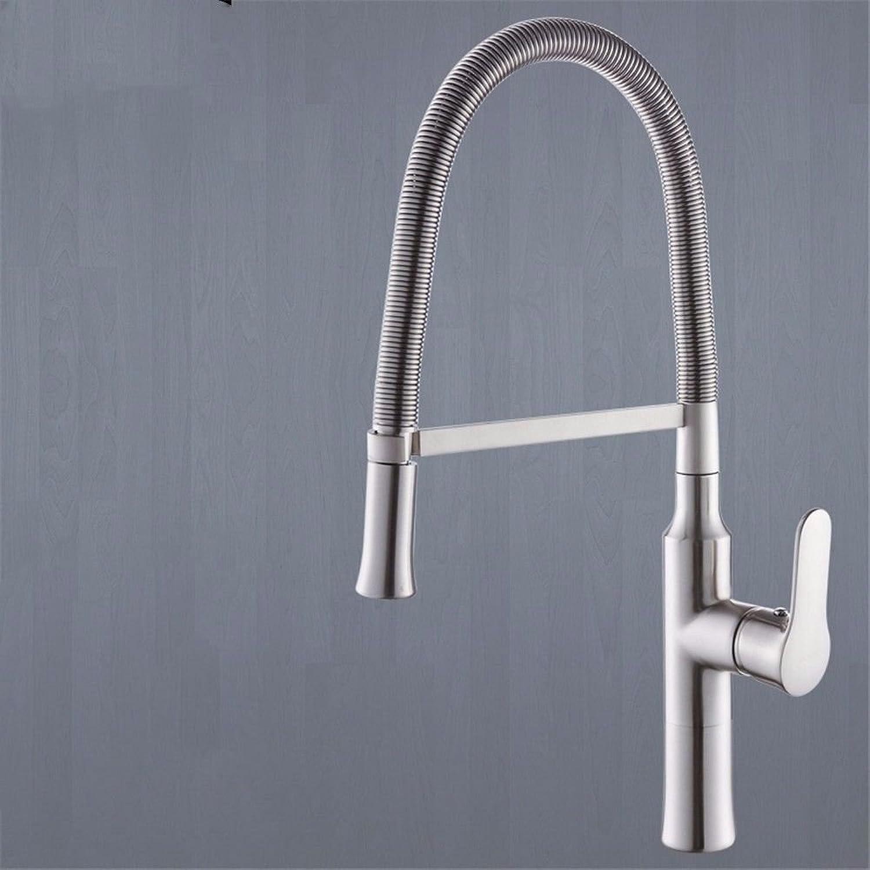 MGADERO Waschtischarmatur Waschbecken Mischbatterie Messing schwenkbar Ausziehbare Warmes und kaltes Wasser Bad Armatur Badezimmer Wasserhahn