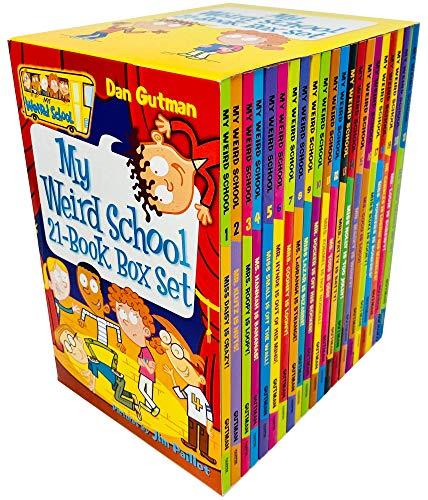 My Weird School 21 Books Box Set Collection by Dan Gutman