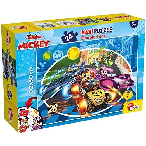 Liscianigiochi Disney Puzzle Supermaxi 24, Mickey, 74099