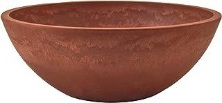 clay bird bath bowls