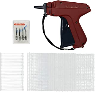Amram Tagger Tagging Gun Kit with 1250 2 Inch Attachments and 5 Needles for Standard Clothing Tagging Applications Easy to Assemble Load and Use