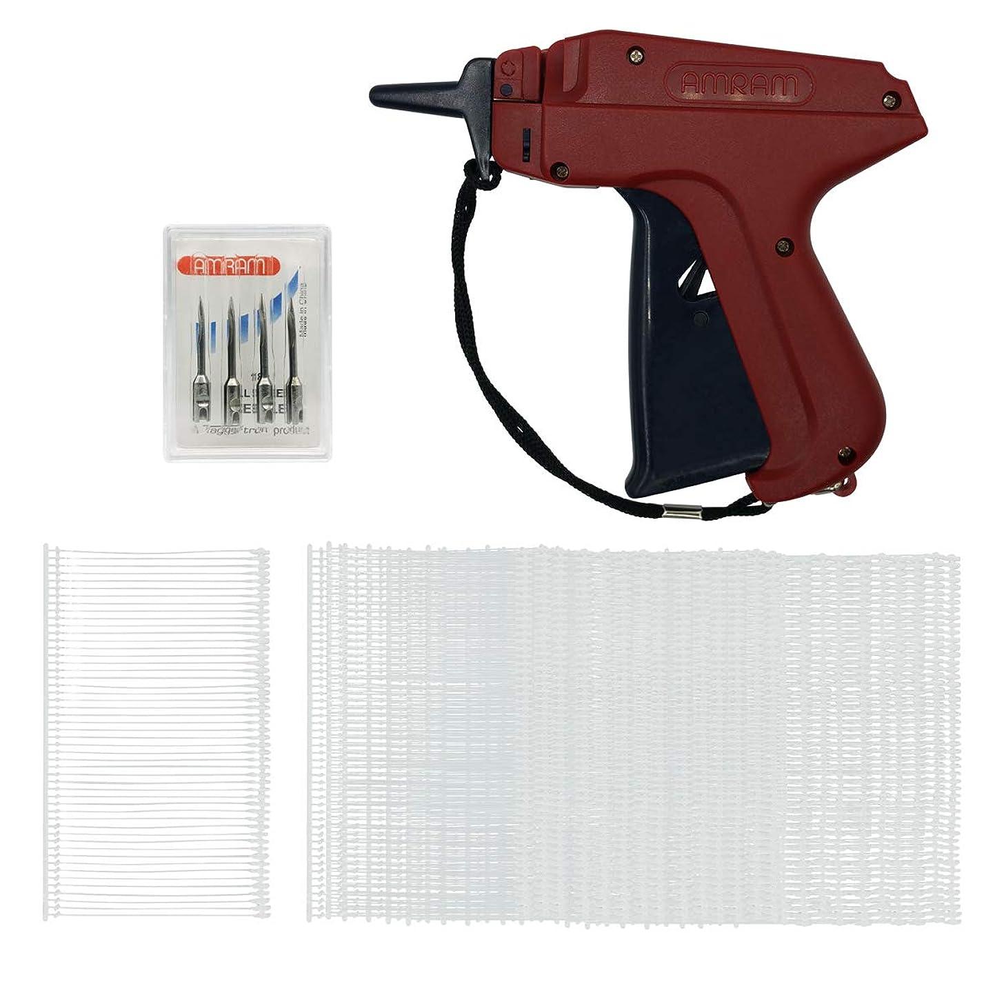 Amram Tagger Standard Tag Attaching Tagging Gun Bonus KIT with 5 Needles and 1250 2