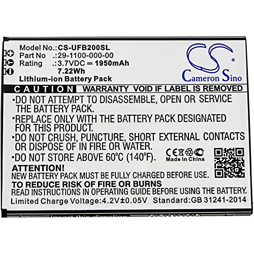 CS Cameron Sino 1950mAh Replacement Battery for Ulefone Be Touch, Be Touch 2, Be Touch 3, Paris Lite