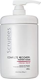 Scruples Complete Recovery Treatment Masque (25 oz) for Dry, Damaged Hair – Cruelty-Free & Gluten-Free - Conditioning Mask for All Hair Types – Intense Repair Treatment for Reversing Damage