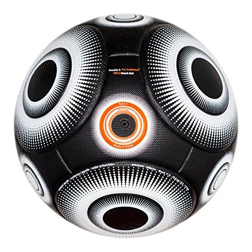 Bend-It Football Knuckle-It Pro (5, Noir/Blanc)