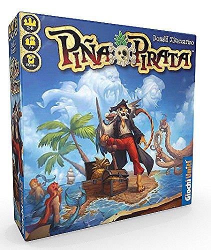 Giochi Uniti GU515 Piña Pirata - Juego de Mesa