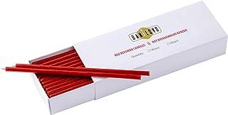 Danilovo Bienenwachs Kerzen Rot - Orthodoxe Kerzen für Gebet Rituals Tischdeko - Ungiftig, Ruß - Tropffrei, Lang, Nachhaltige Produkte 30, Höhe 16 cm