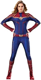 Rubie's Women Captain Marvel Hero Suit Adult Sized Costumes (pack of 1)