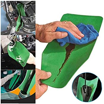 37//17cm Flexible Draining Tool Oil Funnel Trucks Motorcycles Flexible Drainage Oil Guide Tool General Purpose Funnel Free Oil Filter Extended for Discharging Oil from Cars