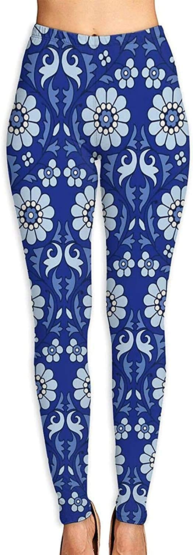 YAOAIAI Blue Flowers Pattern Women's 3D Soft Yo Printed Limited time cheap sale Import Leggings