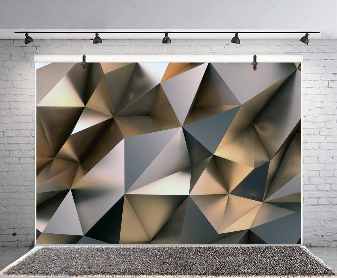 7x10 FT Geometric Vinyl Photography Backdrop,Design Arrows with Triangles and Vibrant Color Palette Tribal Influences Background for Photo Backdrop Baby Newborn Photo Studio Props