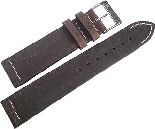 ColaReb 22mm Venezia Tobacco Leather Watch Strap