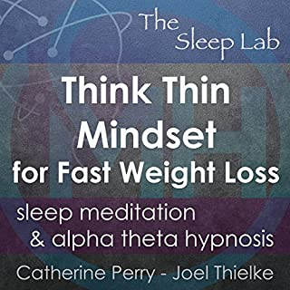 Think Thin Mindset for Fast Weight Loss audiobook cover art