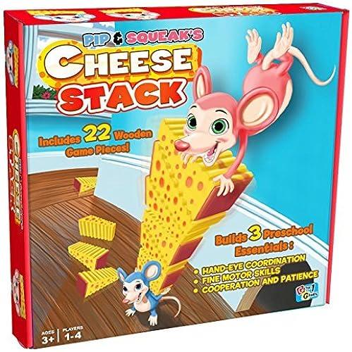 bajo precio Pip Pip Pip & Squeak's Cheese Stack Board Game by Getta1Games  ventas en linea