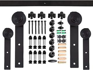 CCJH 9FT-274.5cm Herraje para Puertas Kit de Accesorios para Puerta Correderas Juego de