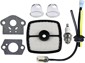 HIPA RePower Kit with Air Filter Primer Bulb Gasket for ECHO HC150 HC151i HCR150 Clipper GT201i SRM210 SRM210i SRM210SB SRM210U SRM211i Trimer Weedeater