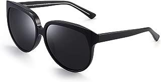 Oversized Polarized Sunglasses for Women Designer Gradient Shades UV400