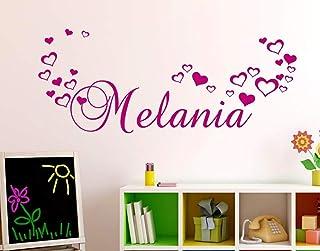 Adesivi Murali Nome personalizzato bambini Adesivo Murale cameretta Wall Stickers Personalizzato Decorazione Cameretta Bam...