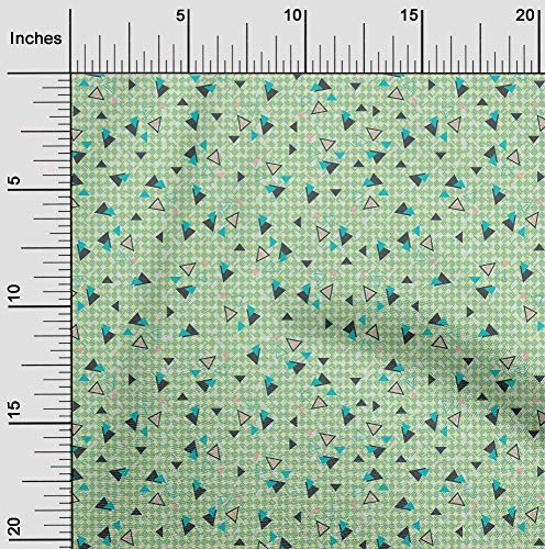 oneOone Flex Algodón Tela Chevron y el Triángulo Geométrico Cosiendo Tela De La Impresión De Material Por Metros 40 Pulgadas De Ancho
