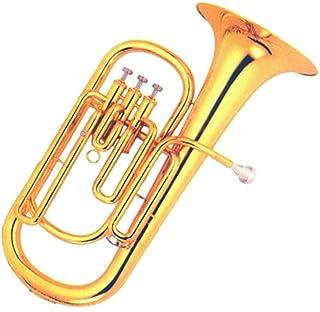Brass Gold Lacquer Bb Tone Baritone Horn