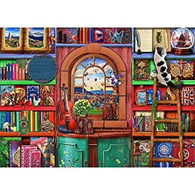 1000 Piece Puzzle for Adults 1000 Pieces Jigsaw Puzzle for Adults 1000 Piece Jigsaw Puzzle - Bizarre Bookshelf from HUADADA