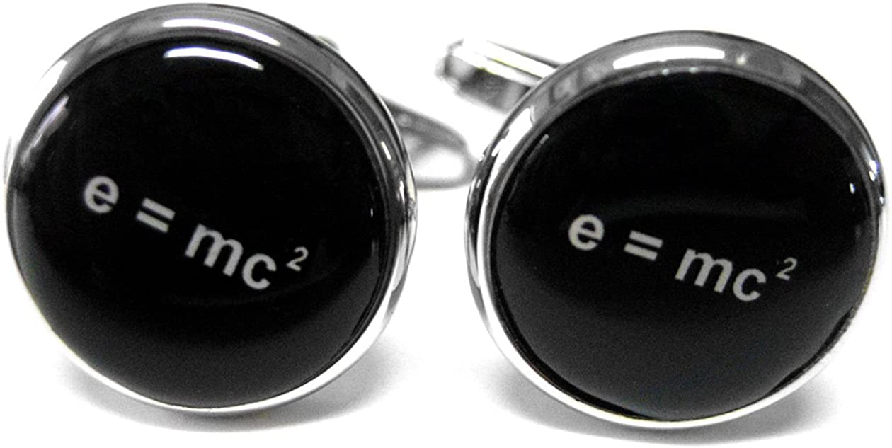 Emc2 Einstein Cufflinks