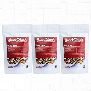 SnackAmor Healthy Ready to Eat Trail Mix of Almonds, Pineapple, Mango, Cranberry, Pumpkin Seeds and Watermelon Seeds Healt...