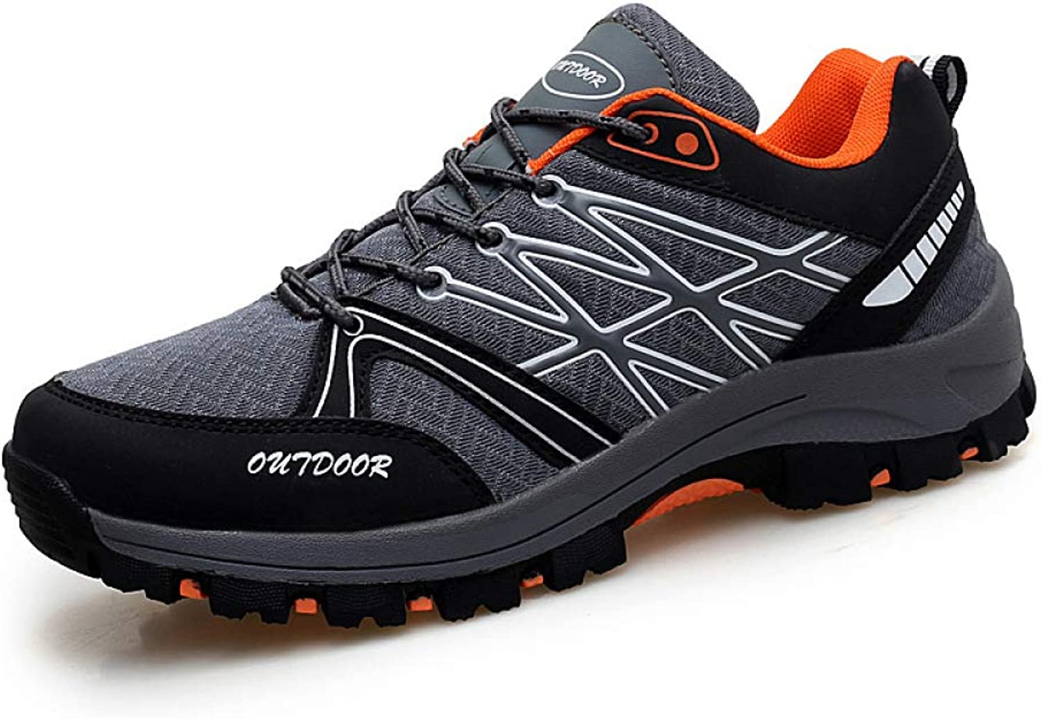 shoes Outdoor Hiking, Non-Slip Breathable Men's Sports Large Size