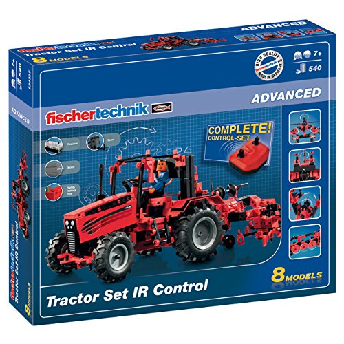 fischertechnik Tractor Set IR Control Konstruktionsbaukasten - ferngesteuerter Tractor zum selbst...