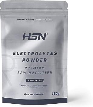 Electrolitos en Polvo de HSN Raw | Sales Minerales para Deporte: Ciclismo, Maratón, Triatón | Hidratación y Recuperación | Vegano, Sin Gluten, Sin ...