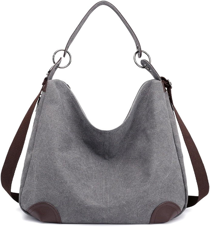 BAO große EIN-Schulter-Handtasche Lässige Segeltuchtasche Damen Handtasche B07JM2H4Y2  Günstiger Günstiger Günstiger 248539