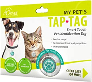 Orivet Smart Dog Tag and Cat Tag | Pet Identification GPS Location Tag