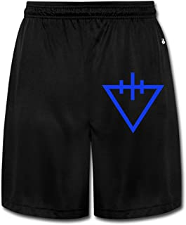 Men's The Devil Wears Prada Logo Short Sweatpants Black
