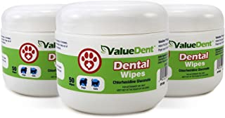 ValueDent Dental Wipes for Dogs and Cats, 150 Count
