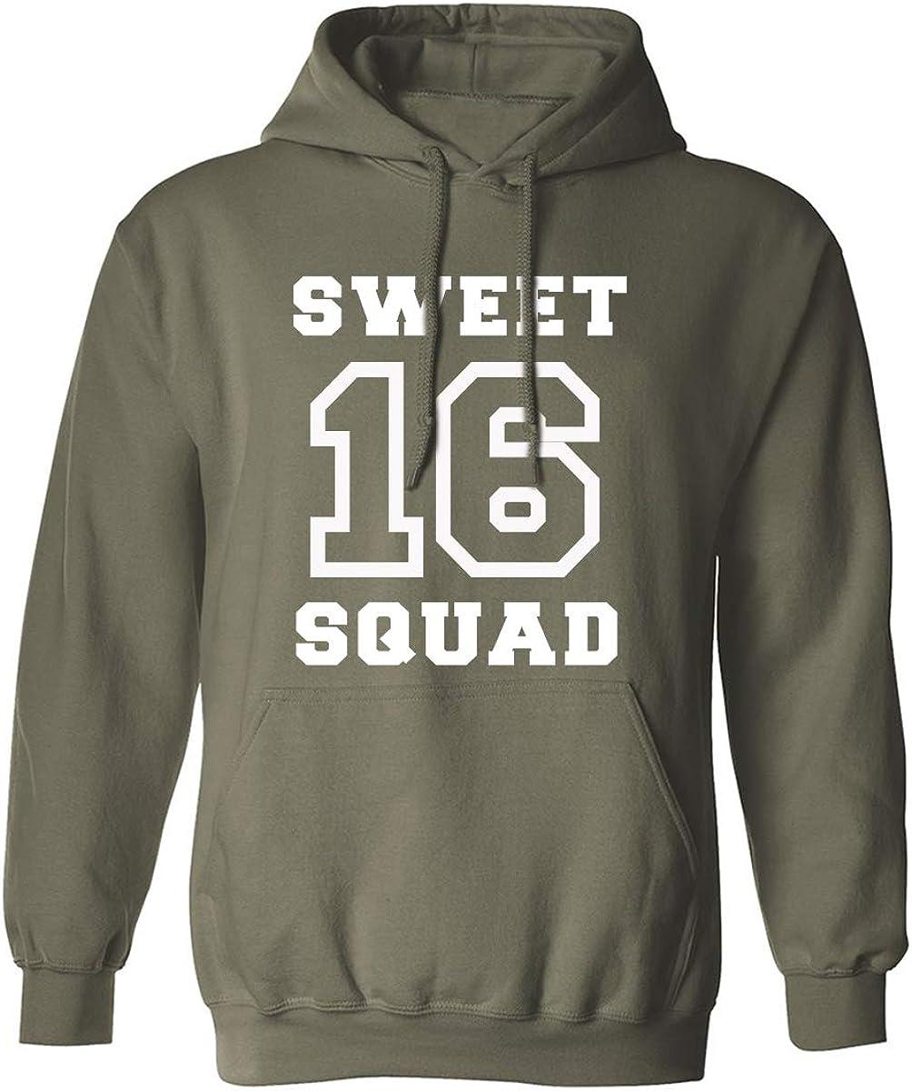 SWEET 16 SQUAD Adult Hooded Sweatshirt