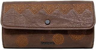Luxury Fashion   Desigual Womens 19WAYP35BROWN Brown Wallet   Fall Winter 19