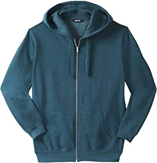 KingSize Men's Big & Tall Fleece Zip-Front Hoodie