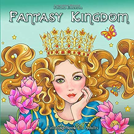 Fantasy Kingdom Coloring Book for Adults
