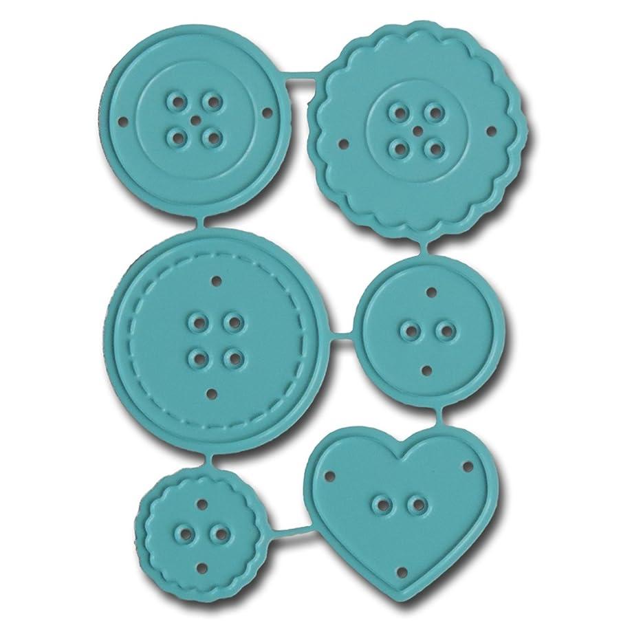 Maya Road DIE3341 Mini Buttons Steel Cutting Die-DIE3341