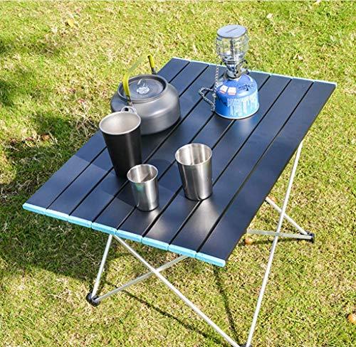 「耐荷重30KG」アウトドアテーブル マット加工 折りたたみ 耐摩擦 アルミ製 安定丈夫 組立簡単 コンパクト収納 キャンプテーブル ローテーブル サイドテーブル キャンプ/釣り/BBQ/ピクニック に最適