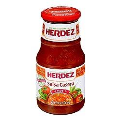 Herdez Salsa Casera Hot, 16 Ounce