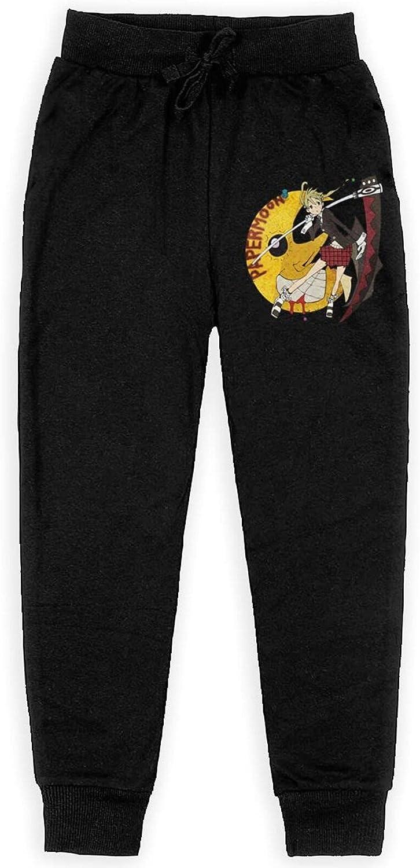 Soul Eater Moon Art Sweatpants Kids Sport Everyday Pant Athletic Fashion Pants for Boys Girl