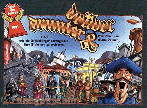 Hans im Glück Drunter und drüber - Spiel des Jahres 1991