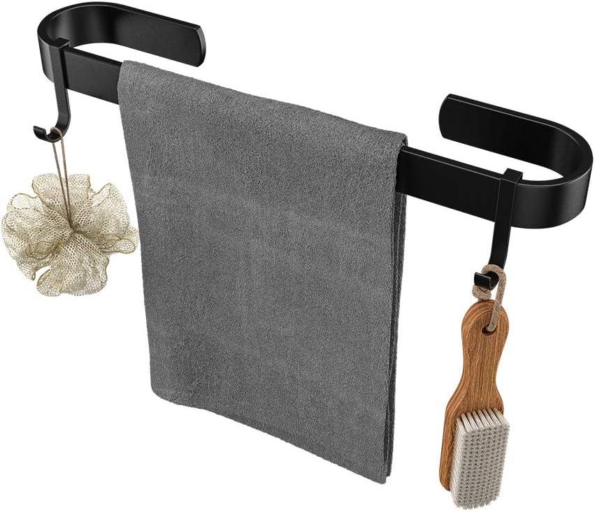 gacewel Towel Bar - Matte Black Inch New product Max 41% OFF type 16 Holder for Bathroo