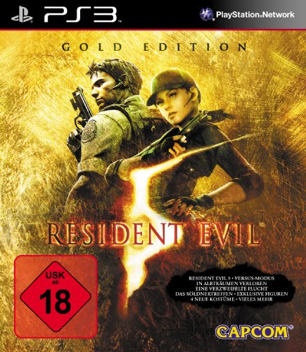 [Import Anglais]Resident Evil 5 Gold Edition (Move Compatible) Game PS3
