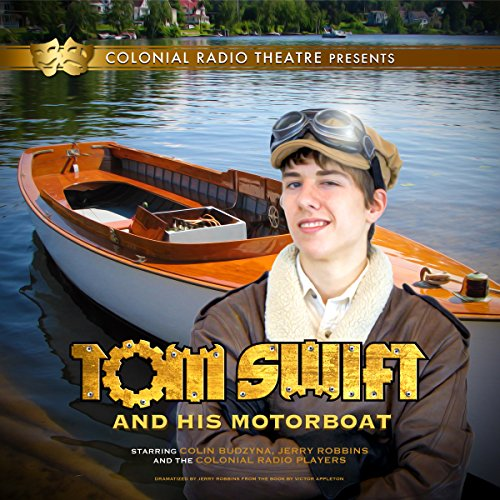 Tom Swift and His Motor Boat cover art