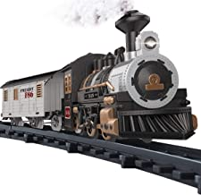Fistone Electric Rail Play Trains Railway Track Sets with Realistic Sound and Light Effects Simulation Model Toy for Kids